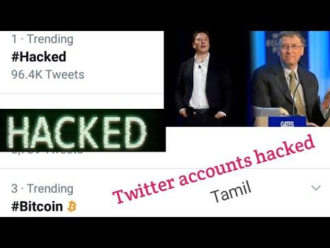 Twitter Accounts Hacked   Tamil   News   Elan Musk - Bill Gates - Obama Accounts Hacked