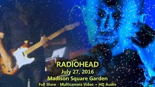 radiohead 72716 msg full show multicamtaper audio madison square garden n2