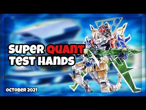l YuGiOh l Super Quant Test Hands And Combos October 2021 Format!