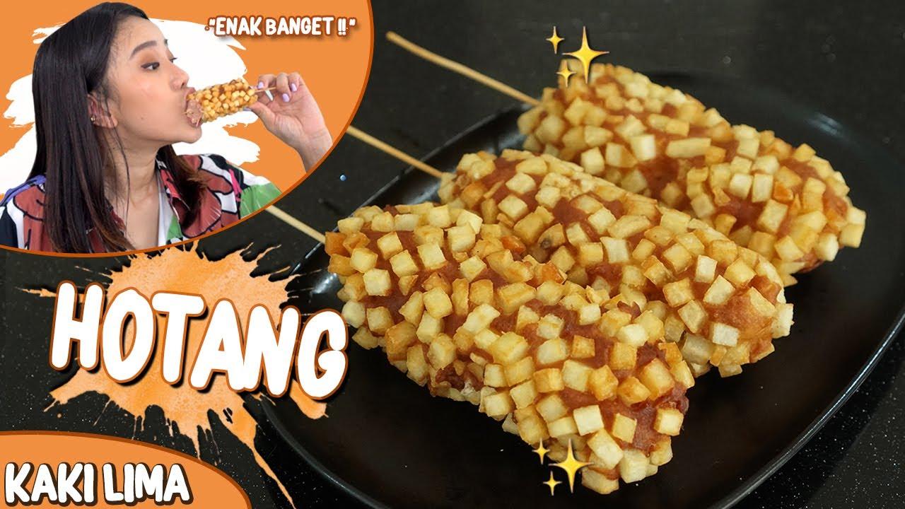 BIKIN HOTANG(HOT DOG KENTANG)! TERNYATA GAMPANG BANGET!