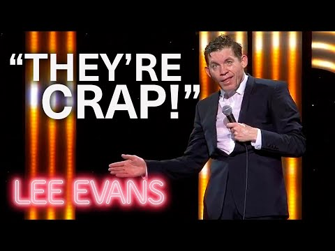 The Weather Man - Lee Evans: Monsters