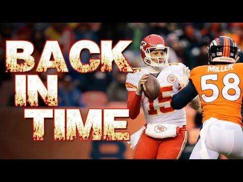 Back in time to Patrick Mahomes 1st NFL start at QB | Kansas City Chiefs vs Denver Broncos wk17 2017