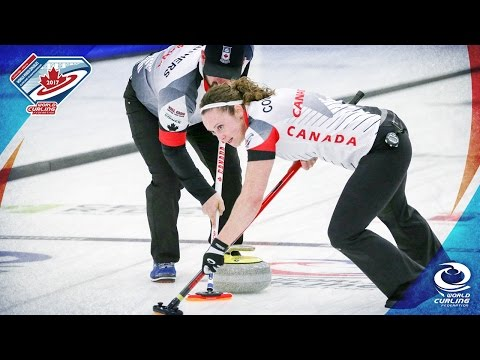 Canada v Switzerland - Gold medal game - World Mixed Doubles Curling Championship 2017