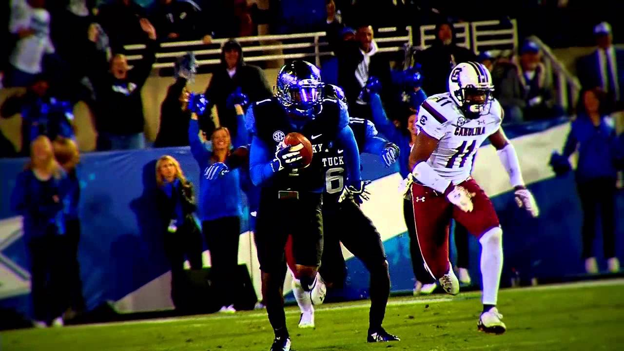 Kentucky Wildcats TV:UK Football vs South Carolina ...