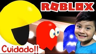 PACMAN EATS ME CAP SCAP INGINDED IN ROBLOX Games for children