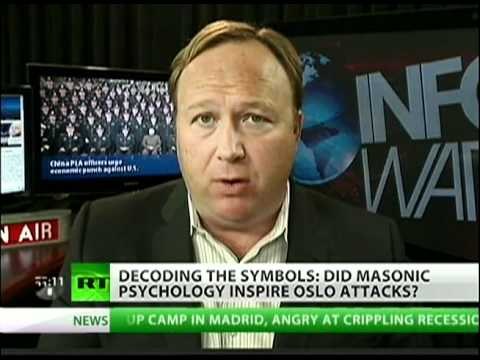 Alex Jones: 'Anders Behring Breivik was Masons' Patsy'