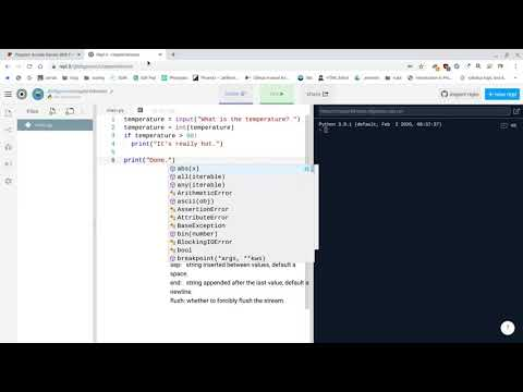 Create Python Code In Repl It