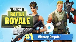 MY FIRST SOLO & DUO VICTORY in Fortnite: Battle Royale! (Playing w/ Girlfriend)