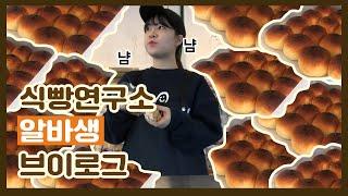 [알바VLOG] 일산 식빵연구소 알바브이로그 | 21살…