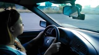Первое занятие по вождению