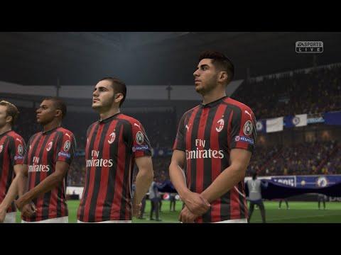 Fifa 19 Uefa Champions League final AC Milan vs Real Madrid careers mode