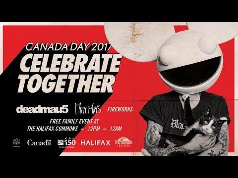 deadmau5 live || Halifax Commons 2017 || Full Set