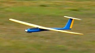 Cougar Leichtgewicht Hotliner Glider Segler Flight Demonstratio *1080p50fpsHD*