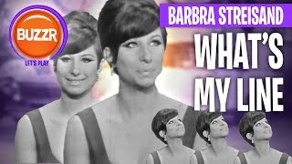 What's My Line? 1965 - The AMAZING Barbra Streisand as Mystery Guest   BUZZR