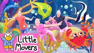 KIDS DANCE SONG | SEA ANIMAL DANCE  | Hip Hop | Children's Tutorial