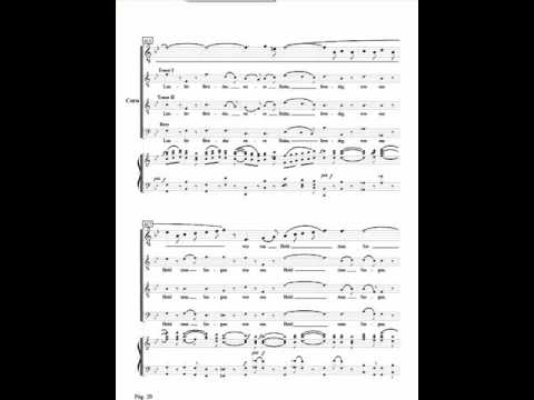 Beethoven 9th symphony , Allegro assai vivace alla Marcia 407-431, Bass , voice over