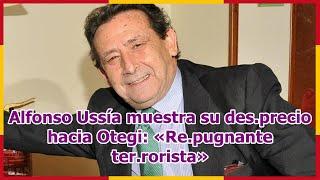 Alfonso Ussía muestra su des.precio hacia Otegi: «Re.pugnante ter.rorista»