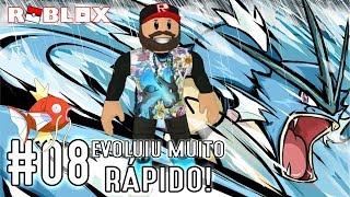 Evolving the Magikarp for Gyarados-Pokémon Brick Bronze #08 English EN-BR | Roblox