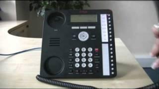 Transfer a call - Avaya IP Office 1616 series telephone
