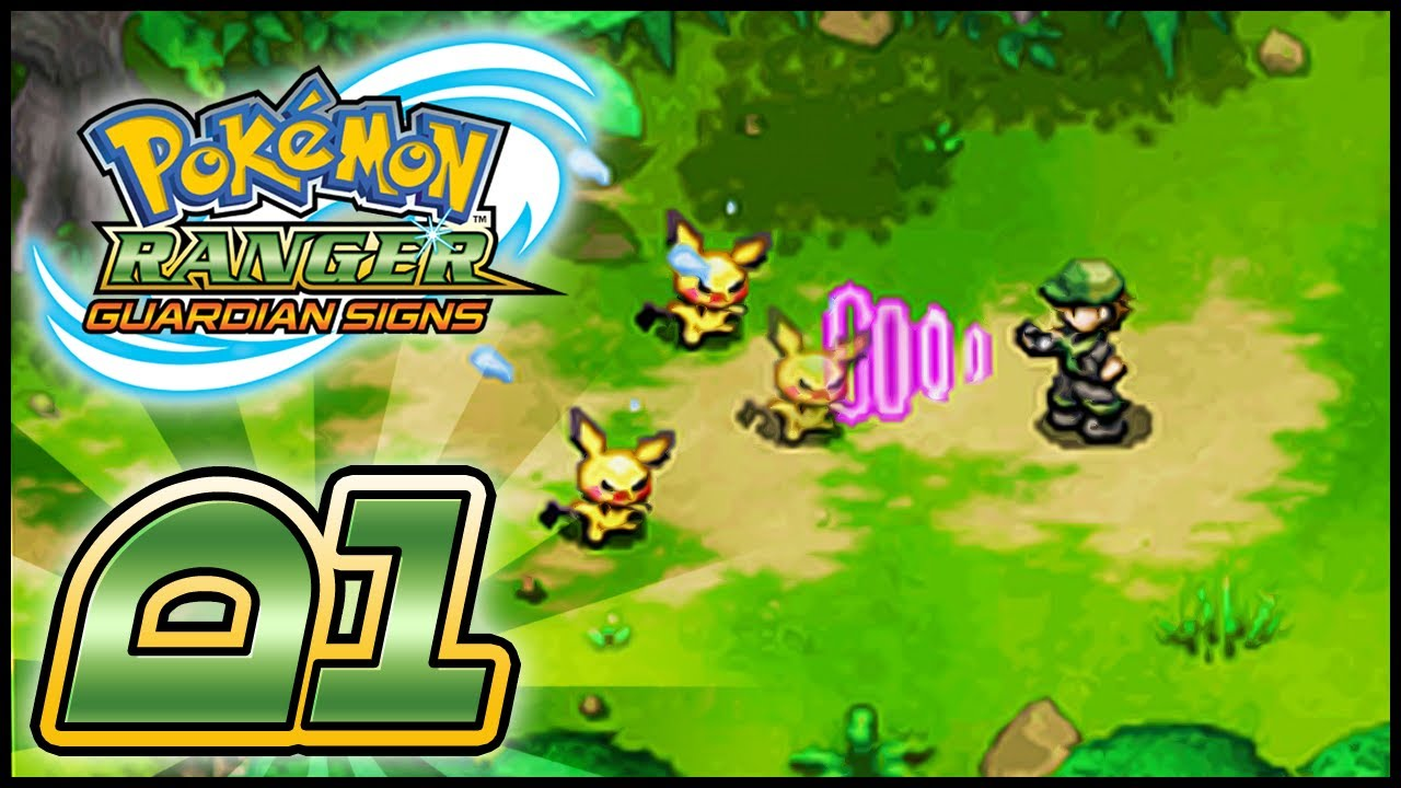 Pokemon Ranger Guardian Signs - #01:
