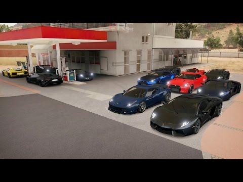 Forza Horizon 3 | Street Monster Meet Pt.2 | 1XXXHP Aventador, Gallardo, GTR, R8 & More