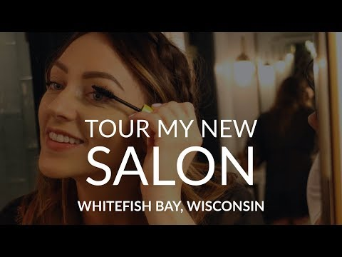Tour My New Salon | Whitefish Bay, WI | Finally An Independent Stylist!