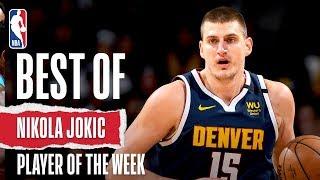 Nikola Jokic | Western Conference Player Of The Week