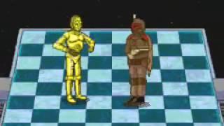 Star Wars Chess - Alliance Wins Sega CD