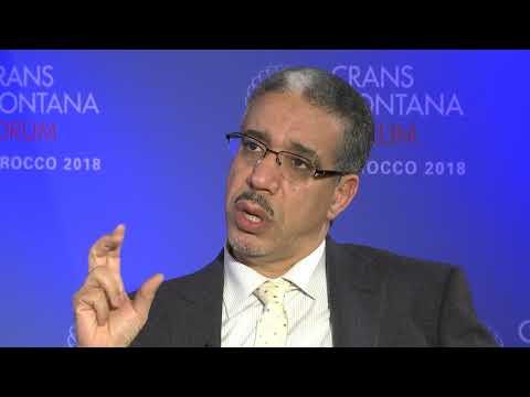 Interview Mr. Aziz Rabbah - Crans Montana Forum Dakhla 2018
