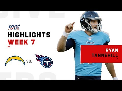 Ryan Tannehill Leads Titans to Victory in 1st Start | NFL 2019 Highlights