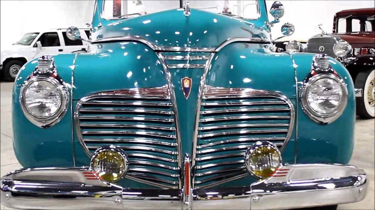 1941 Plymouth Special Deluxe Youtube Coupe