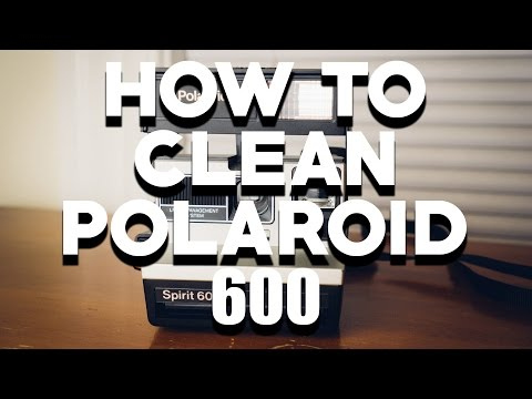 How to Clean Rollers on Polaroid 600 Cameras