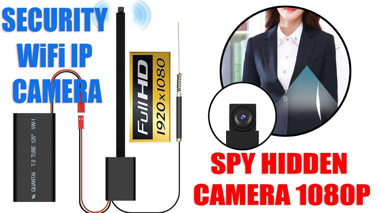 How To Use Mini Wifi Ip Spy Camera Wireless Hd 1080p Button Hidden Camera For Home Office Security Youtube