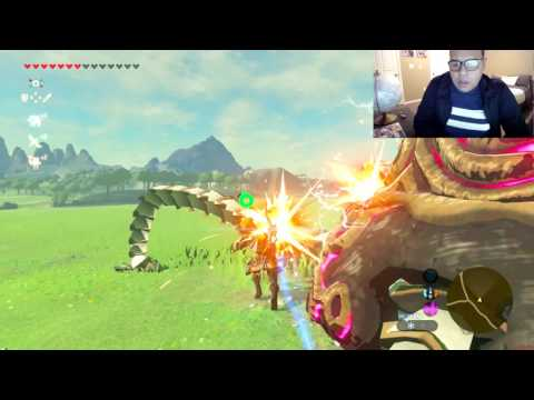 Legend of Zelda Breath of The Wild : Farming Guardian Core #Fail (nintendo Switch)