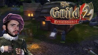 COMO SER UM BANQUEIRO MEDIEVAL!!! - The Guild 2 Renaissance - (Gameplay/PC/PT-BR) HD