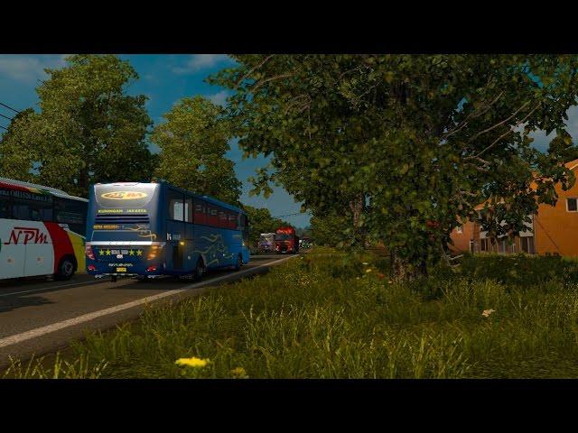 ETS2 bus ngeblong ugal-ugalan