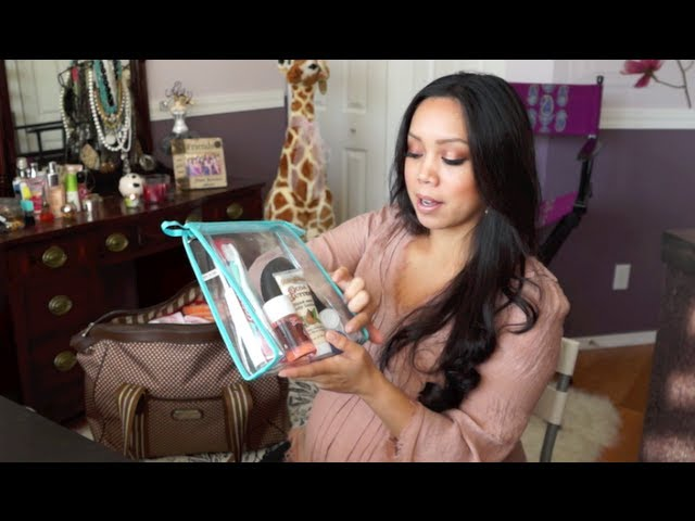 Whats in My Hospital Bag?! - itsjudyslife Travel Video