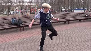 НАСТЯ разучила новые ПА!!! Зажигает на масленице! #music #dance #dancers