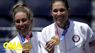 Team USA wins gold in beach volleyball l GMA