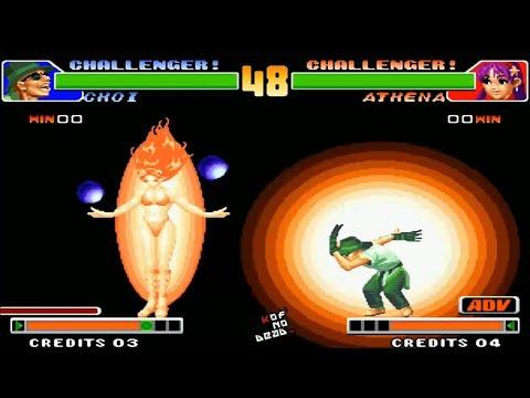 Choi DM SDM vs Athena DM SDM  KOF 98