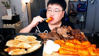 [MUKBANG] 가래떡 떡볶이+순대간(내장)+찰순대+…
