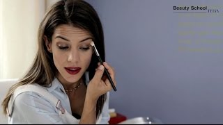 Maquillaje para labios rojos: tutorial paso a paso