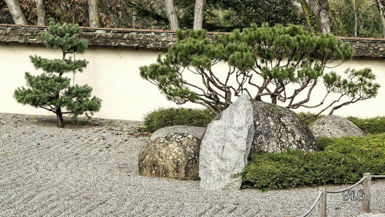 Jardin japonais pans Caffarelli