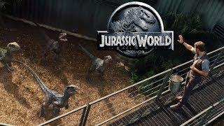 What Was InGen's Project I.B.R.I.S? - Jurassic World's Velociraptor Squad