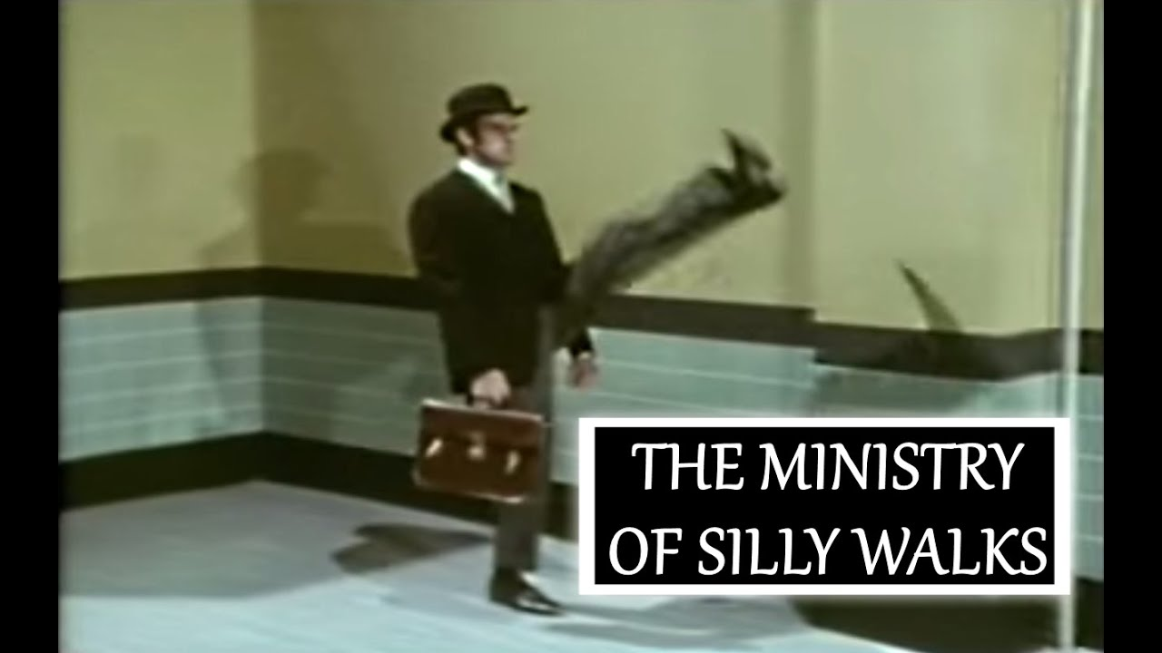 The Ministry of Silly Walks mobile game - - YouTube