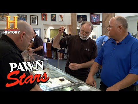 Pawn Stars: Rick Checks Out an Expensive Old Rock (Season 10) | History