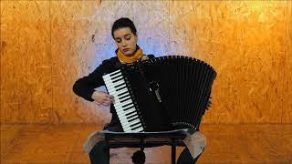 Erik Satie: Gnossienne no.1 (accordion)