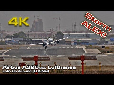 Late Go Around (Alex Storm) A320 Neo Lufthansa Valencia!