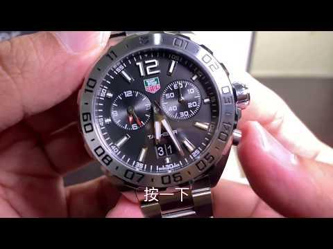 TAG Heuer Formula 1 F1 系列石英手錶男士手錶,手錶型號~WAZ111A.BA0875