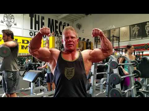 Arm Day at Gold's Venice with Ray Barnett (Iron Diaries)